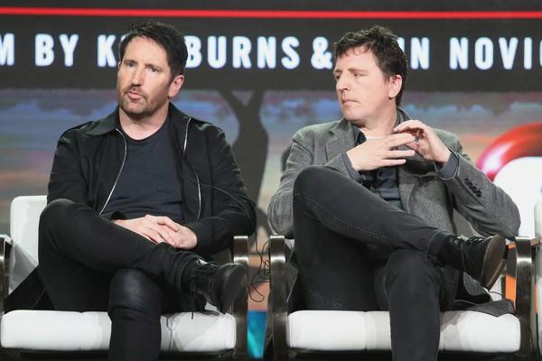 Os compositores Trent Reznor e Atticus Ross (Foto: Getty Images)