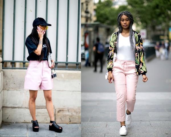No verão, opte por shorts e calças de cores claras (Foto: Imaxtree)