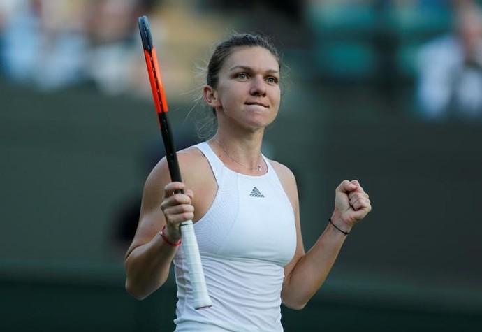 Simona Halep chegou à segunda semana sem perder sets (Foto: REUTERS/Matthew Childs)