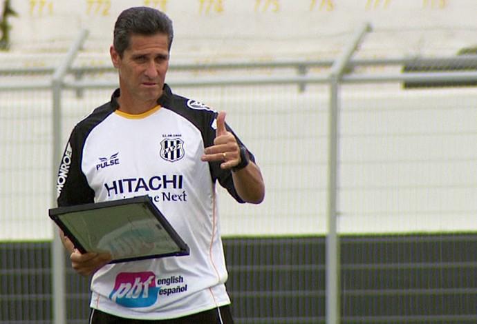 Jorginho, técnico da Ponte Preta (Foto: Carlos Velardi / EPTV)