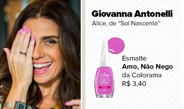O esmalte rosa, usado pela personagem Alice (Giovanna Antonelli) é o Amo, Não Nego da Colorama (Foto: Sandy Bahia/EGO)