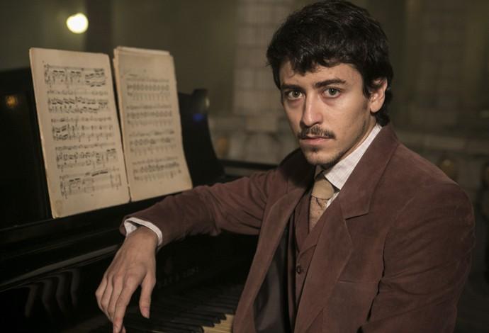 Jesuíta será o romântico músico Felipe em 'Ligações Perigosas' (Foto: Inácio Moraes/Gshow)