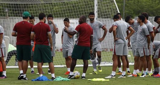 descanso antecipado (Nelson Perez/Fluminense FC)
