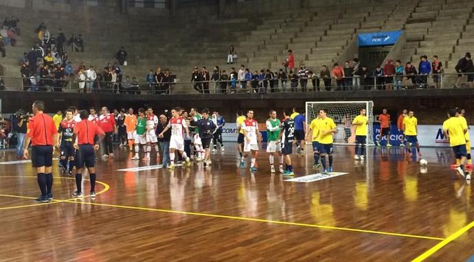 Sorocaba Futsal, Joinville, Libertadores, Futsal, Paraguai  (Foto: Divulgação / Brasil Krin)