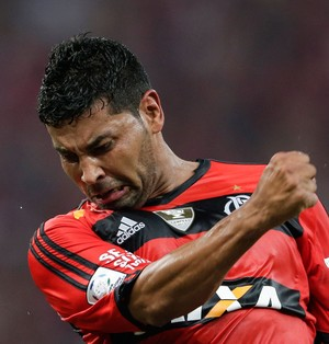 André Santos Flamengo x León (Foto: AP)