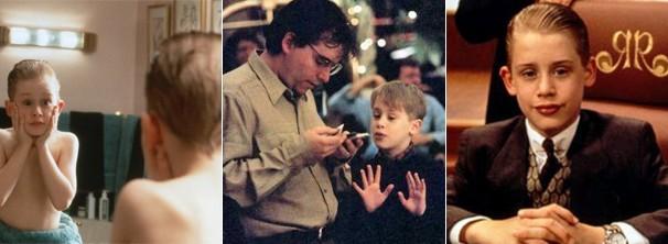 Na foto, o ator aparece em alguns dos seus maiores sucessos: 'Esqueceram de Mim', 'Acertando as Contas Com o Papai' e 'Riquinho'  (Foto: Divulgação / Reprodução)