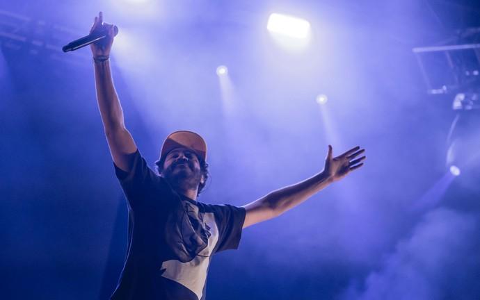 João Rock 2016 foi encerrado pelo rapper Criolo (Foto: Mateus Rigola/Gshow)
