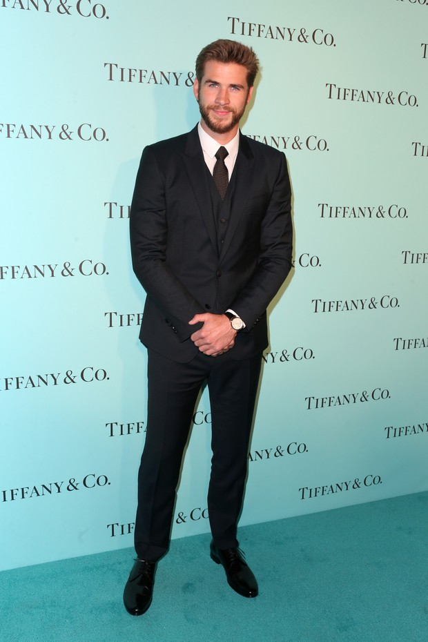 Liam Hemsworth em evento em Los Angeles, nos Estados Unidos (Foto: Frederick M. Brown/ Getty Images/ AFP)