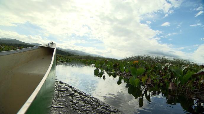 Equipe do 'Aprovado' faz expedição por Marimbus, na Chapada Diamantina (Foto: TV Bahia')