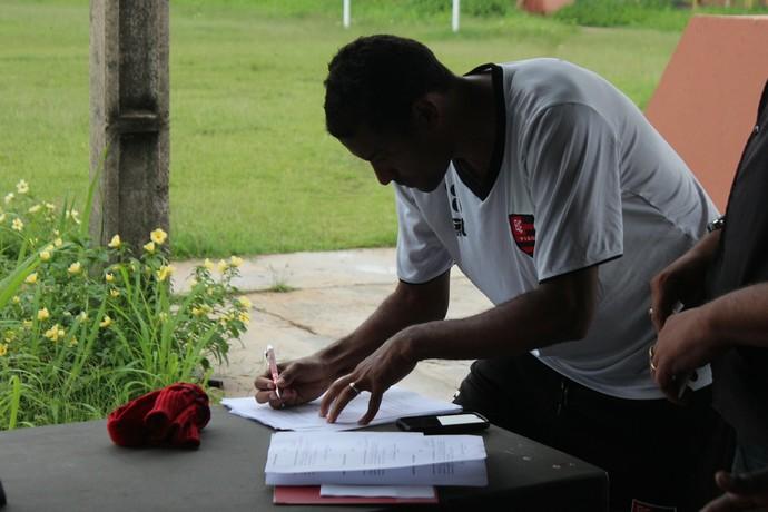 Jarbas Flamengo-PI (Foto: Renan Morais/GloboEsporte.com)