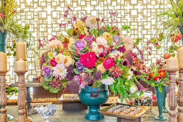 Arranjos florais (Foto: Divulgação)