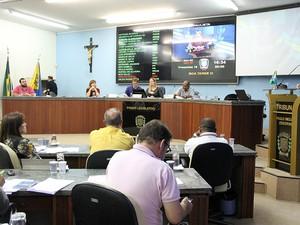 Projetos para reajustes nos salários foram votados na última sessão da Câmara de Bragança Paulista deste ano (Foto: Divulgação/ Câmara de Bragança Paulista)