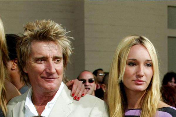 Renee e Rod Stewart (Foto: Getty Images)