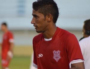 David foi o autor do gol da vitória do Sergipe (Foto: Felipe Martins/GLOBOESPORTE.COM)