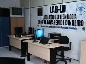 Laboratório vai auxiliar na identificação de crimes de lavagem de dinheiro (Foto: Divulgação/ Secom)