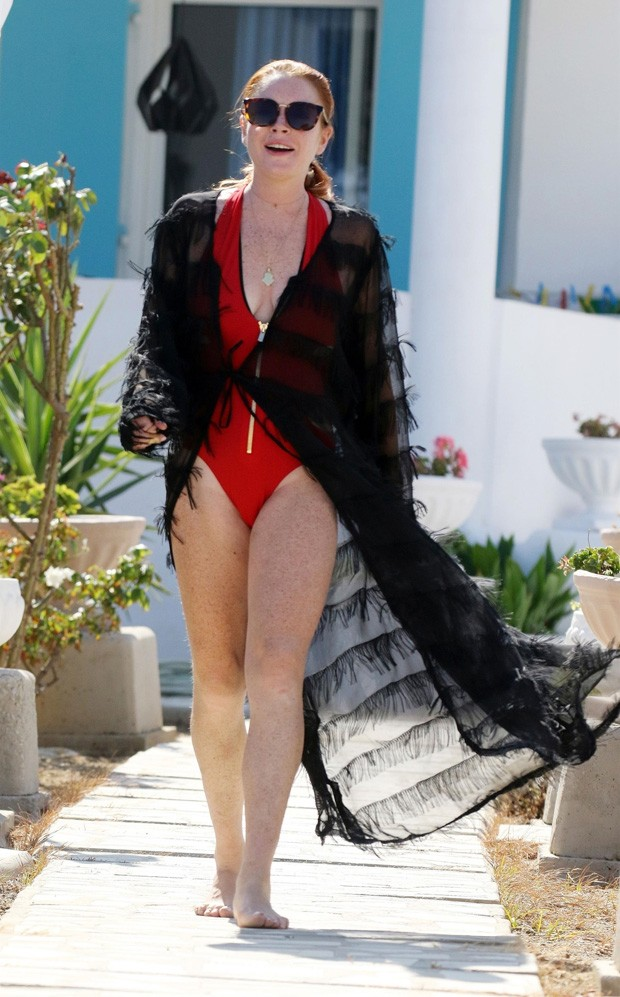Lindsay Lohan (Foto: BackGrid)