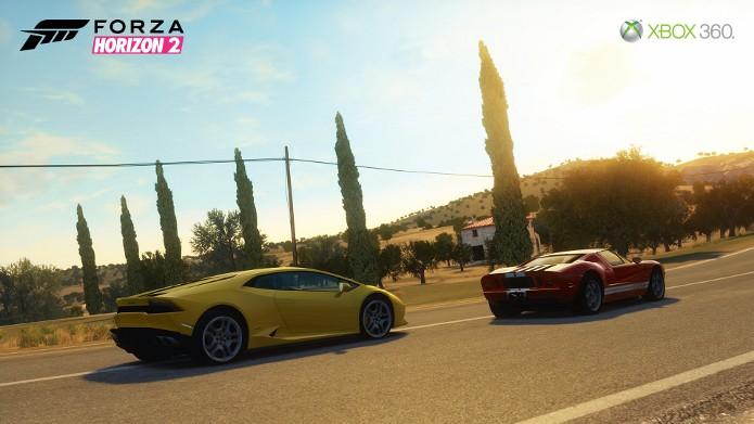 Forza Horizon 2 para Xbox 360 terá menos carros e um mundo menor. (Foto: Divulgação)