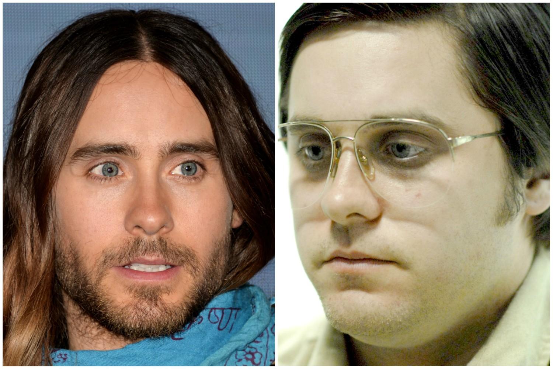 Jared Leto como o assassino de John Lennon em 'Capítulo 27' (2007). (Foto: Getty Images e Reprodução)