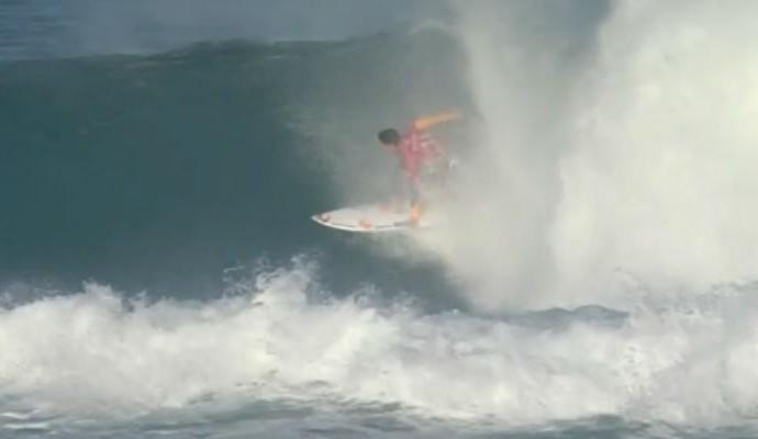 Gabriel Medina x Jay Davies round 2 Margaret surfe (Foto: Reprodução/WSL)