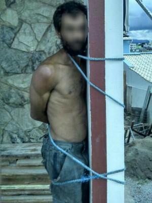 Homem tinha passagens pela polícia (Foto: Polícia Militar/Divulgação)
