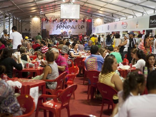Fenearte oferece wi-fi gratuita para os visitantes e feirantes (Foto: Daniela Nader/Divulgação)