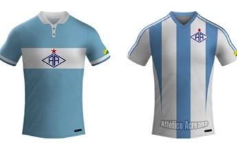 Atlético-AC divulga arte de novas camisas para Série D; veja os modelos