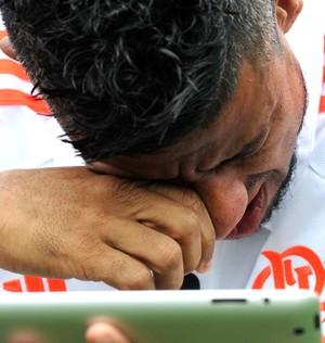 Léo Moura, 500 Jogos Flamengo (Foto: André Durão)