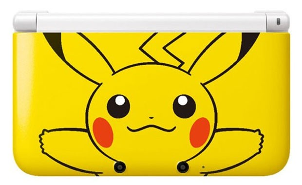 Portátil 3DS com imagem de Pikachu será vendido no Reino Unido Sqjf4cii