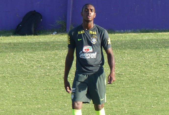 Gerson Brasil sub-20 (Foto: Felipe Schmidt)