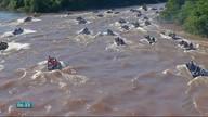Barra do Bugres teve domingo de festa no Rio Paraguai