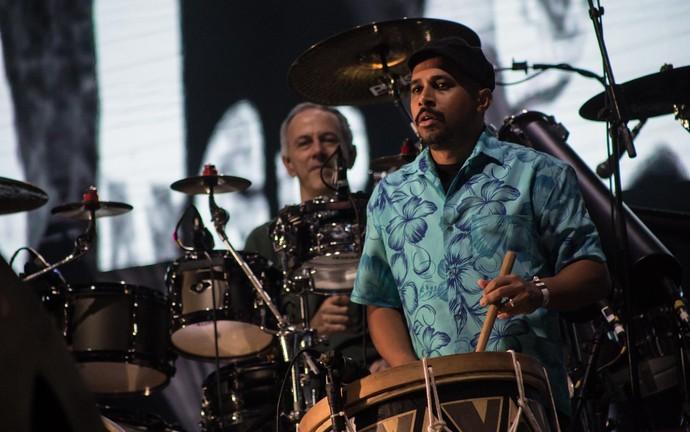 Paralamas e Nação Zumbi misturam tambores e bateria no João Rock 2016 (Foto: Mateus Rigola/Gshow)