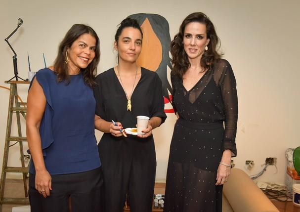 Daniela Falcão, Rita Wainer e Ana Isabel de Carvalho Pinto (Foto: Divulgação)