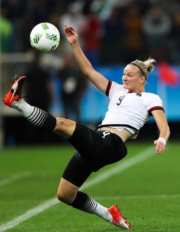 Alexandra Popp, da Alemanha (Foto: Alexandre Schneider / Getty Images )