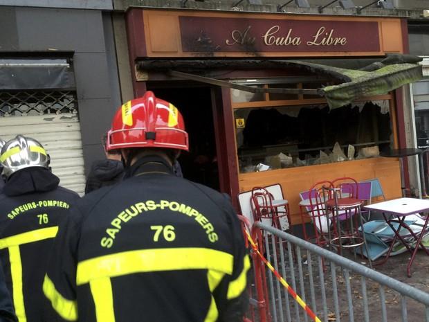 Incêndio em bar deixa vários mortos e feridos no norte da França