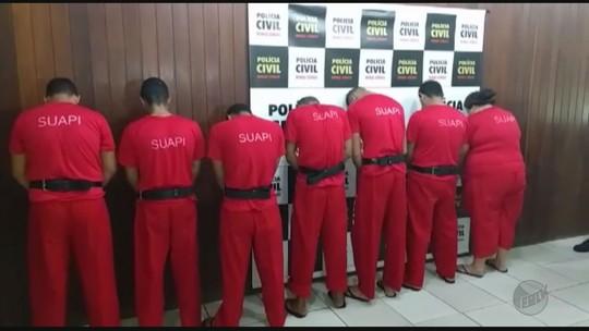Operação prende pelo menos sete pessoas por suspeita de tráfico de drogas em Três Pontas, MG