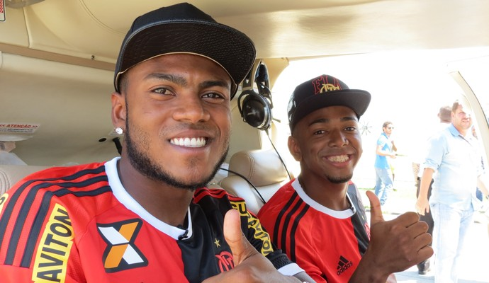 Marcelo Cirino e MC Nego do Borel (Foto: Daniel Cardoso)