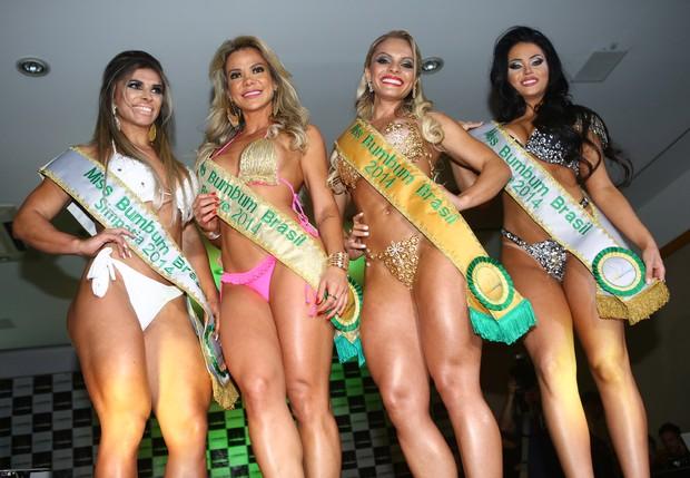 Vencedoras do Miss Bumbum (Foto: Iwi Onodera / EGO)