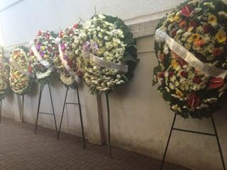 Enterro de Maurício Spada, filho de Maurício de Souza (Foto: EGO)
