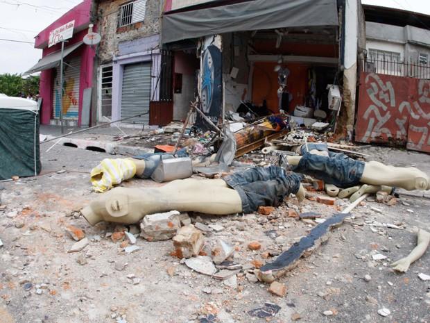 Armario Aereo Cozinha Magazine Luiza ~ G1 Loja fica destruída após explos u00e3o na Zona Norte de SP notícias em S u00e3o Paulo
