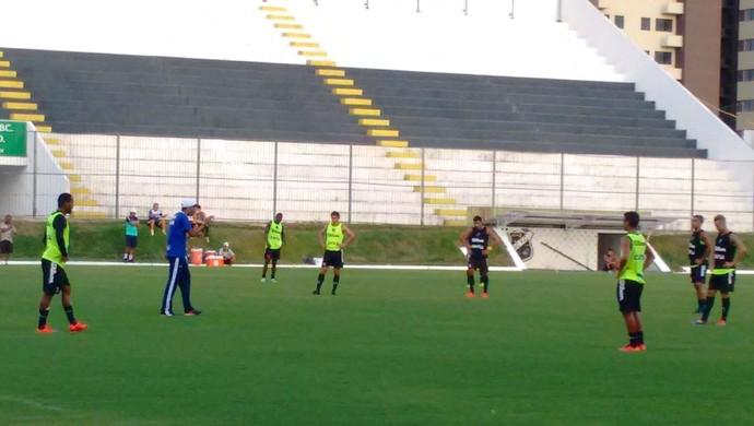 ABC - treino Frasqueirão Narciso (Foto: Divulgação/ABC)