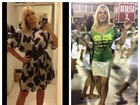 Monique Evans emagrece 10kg e chama atenção em ensaio de carnaval