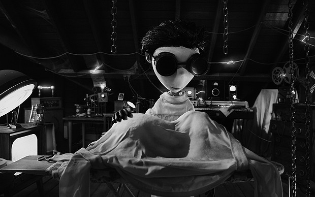 Imagem da anima&#231;&#227;o 'Frankenweenie', de Tim Burton (Foto: Divulga&#231;&#227;o/Disney)