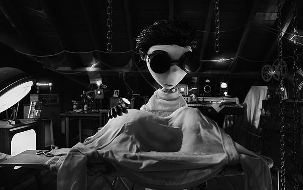 Imagem da animação 'Frankenweenie', de Tim Burton (Foto: Divulgação/Disney)