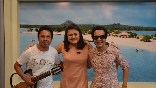 Olivar Barreto faz show em Santarém com o grupo 'Regional Mocorongo' e participa do Bate Papo Cultural
