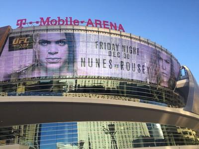 Arena Ronda x Amanda UFC 207 (Foto: Evelyn Rodrigues)