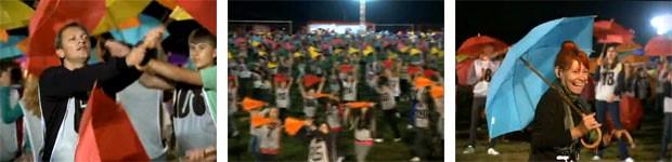 Dança da galera Prudentópolis (Foto: Divulgação/RPC TV)