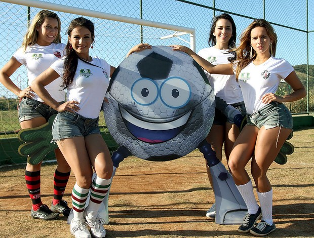 musas Globolinha mascote times Rio de Janeiro (Foto: Globoesporte.com)
