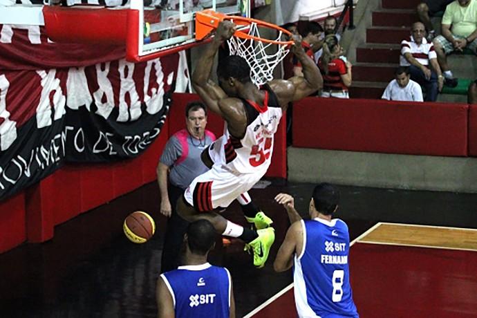 Basquete Flamengo x Macaé (Foto: Gilvan de Souza / Flamengo)