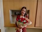 Zilu Camargo deixa hospital: 'Pronta para seguir em frente. Só alegria'