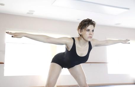 A atriz faz aulas numa academia da Barra da Tijuca, perto do Projac Camilla Maia